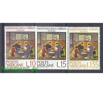 Znaczek Watykan 1964 Mi 464-466 Czyste **