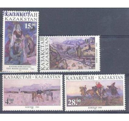 Znaczek Kazachstan 1995 Mi 91-94 Czyste **