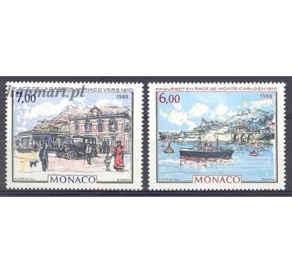 Znaczek Monako 1988 Mi 1878-1879 Czyste **
