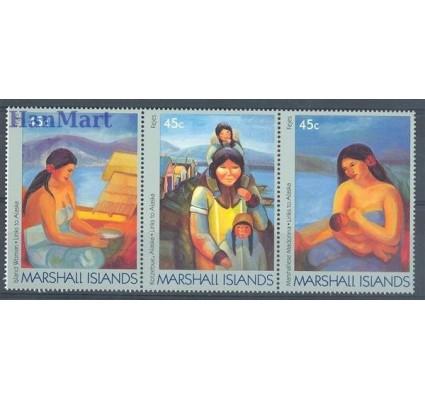 Znaczek Wyspy Marshalla 1989 Mi 209-211 Czyste **