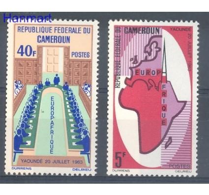 Znaczek Kamerun 1965 Mi 435-436 Czyste **