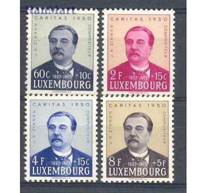 Znaczek Luksemburg 1950 Mi 474-477 Z podlepką *