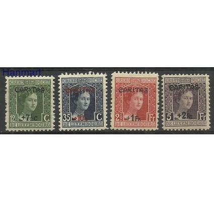 Znaczek Luksemburg 1924 Mi 148-151 Z podlepką *