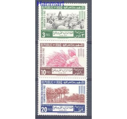 Znaczek Irak 1963 Mi 367-369 Czyste **