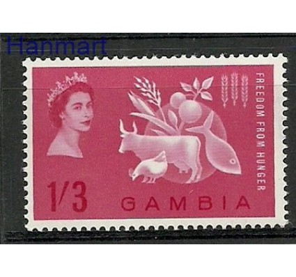 Znaczek Gambia 1963 Mi 167 Czyste **