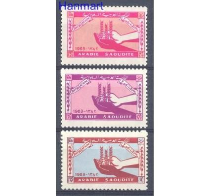 Znaczek Arabia Saudyjska 1963 Mi 139-141 Czyste **