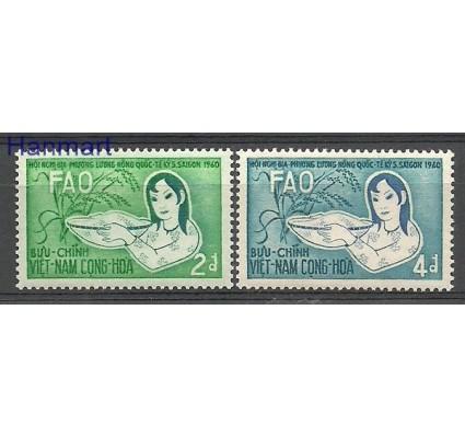 Znaczek Wietnam Południowy 1960 Mi 221-222 Czyste **