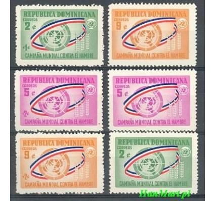 Znaczek Dominikana 1963 Mi 797-802 Czyste **