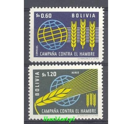 Znaczek Boliwia 1963 Mi 696-697 Czyste **