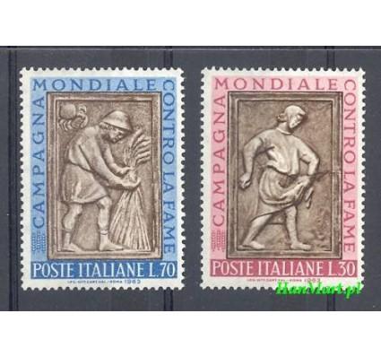 Znaczek Włochy 1963 Mi 1140-1141 Czyste **