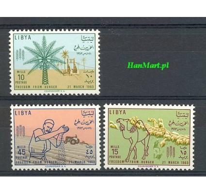 Znaczek Libia 1963 Mi 136-138 Czyste **