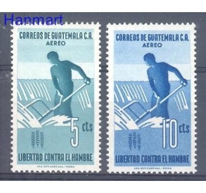 Znaczek Gwatemala 1963 Mi 695-696 Czyste **