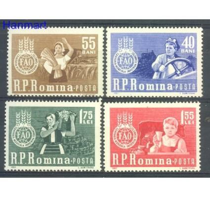 Znaczek Rumunia 1963 Mi 2126-2129 Czyste **