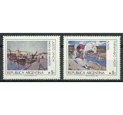 Znaczek Argentyna 1989 Mi 1955-1956 Czyste **
