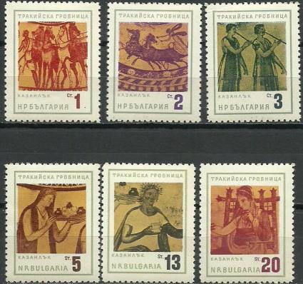 Znaczek Bułgaria 1963 Mi 1415-1420 Czyste **