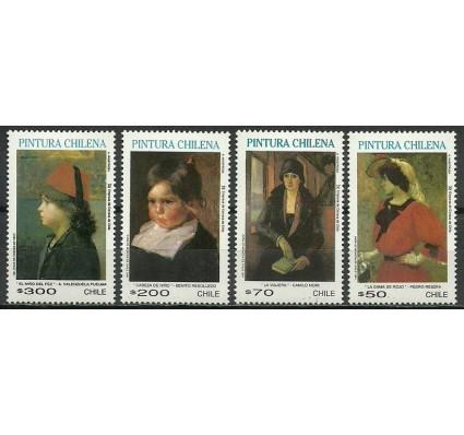 Znaczek Chile 1991 Mi 1462-1465 Czyste **