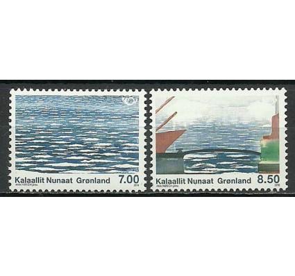 Znaczek Grenlandia 2010 Mi 561-562 Czyste **