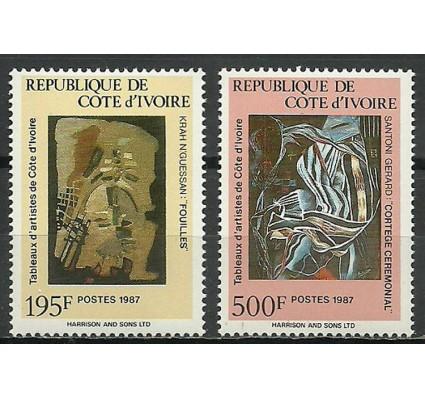 Znaczek Wybrzeże Kości Słoniowej 1987 Mi 955-956 Czyste **