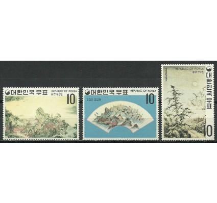 Znaczek Korea Południowa 1970 Mi 725-727 Czyste **