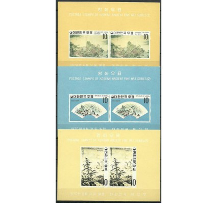 Znaczek Korea Południowa 1970 Mi bl 307-309 Czyste **
