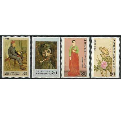 Znaczek Korea Południowa 1986 Mi 1488-1491 Czyste **
