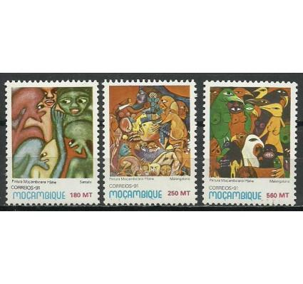 Znaczek Mozambik 1991 Mi 1239-1241 Czyste **