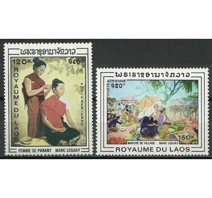 Znaczek Laos 1969 Mi 268-269 Czyste **