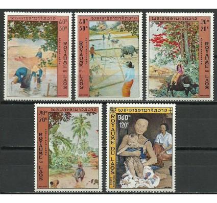 Znaczek Laos 1972 Mi 349-353 Czyste **