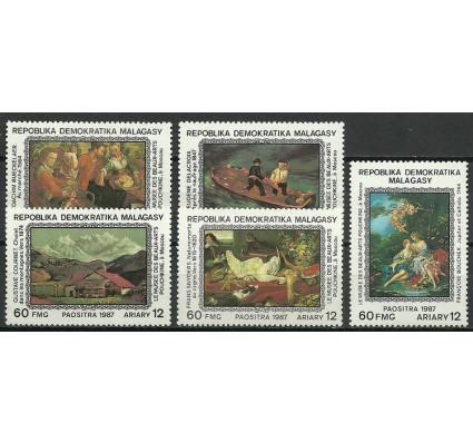Znaczek Madagaskar 1987 Mi 1098-1102 Czyste **