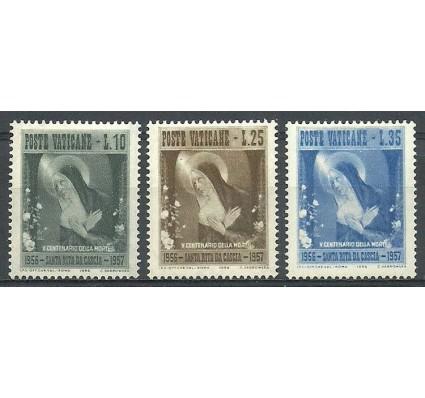 Znaczek Watykan 1956 Mi 256-258 Czyste **