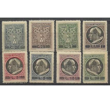 Znaczek Watykan 1945 Mi 116-123 Z podlepką *