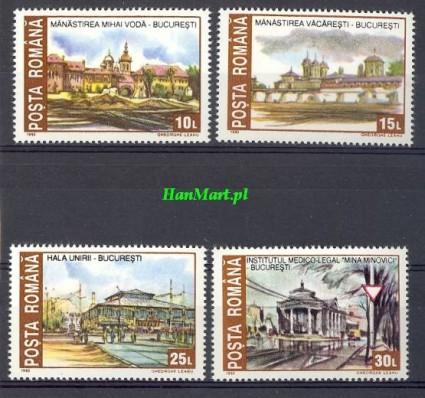 Znaczek Rumunia 1993 Mi 4859-4862 Czyste **