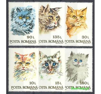 Znaczek Rumunia 1993 Mi 4885-4890 Czyste **