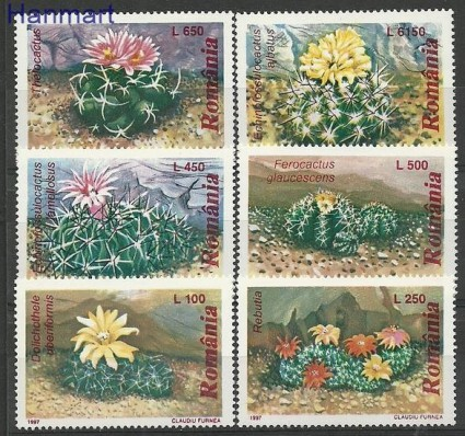 Znaczek Rumunia 1997 Mi 5256-5261 Czyste **