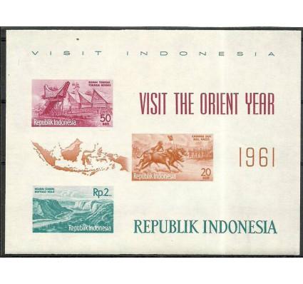 Znaczek Indonezja 1961 Mi bl 2 Czyste **