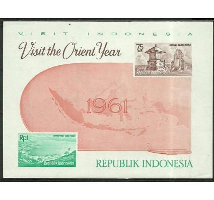 Znaczek Indonezja 1961 Mi bl 4 Czyste **