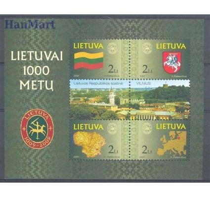 Znaczek Litwa 2001 Mi bl 22 Czyste **