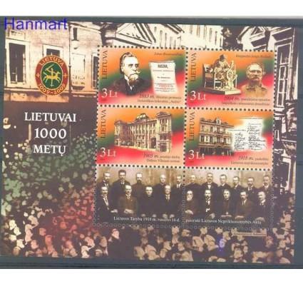 Znaczek Litwa 2007 Mi bl 34 Czyste **