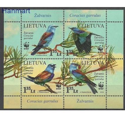Znaczek Litwa 2008 Mi bl 37 Czyste **