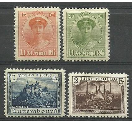 Znaczek Luksemburg 1925 Mi 161-164 Z podlepką *
