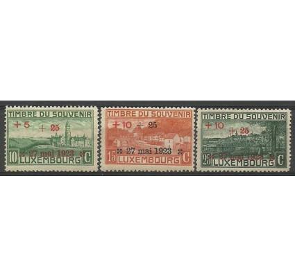 Znaczek Luksemburg 1923 Mi 144-146 Z podlepką *