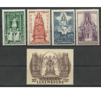 Znaczek Luksemburg 1945 Mi 382-386 Z podlepką *
