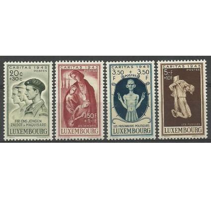 Znaczek Luksemburg 1945 Mi 395-398 Z podlepką *