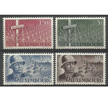 Znaczek Luksemburg 1947 Mi 423-426 Z podlepką *