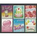Tajlandia 2010 Mi 2865-2870 Czyste **