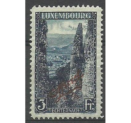Znaczek Luksemburg 1922 Mi die 126A Z podlepką *