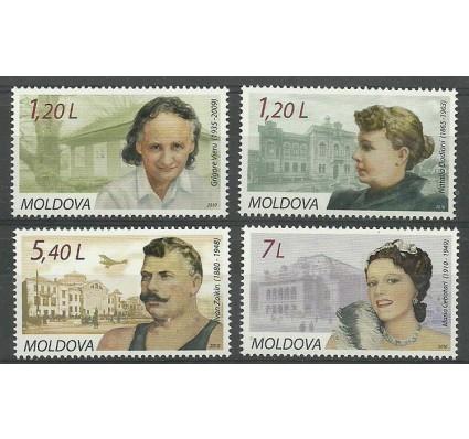 Znaczek Mołdawia 2010 Mi 684-687 Czyste **