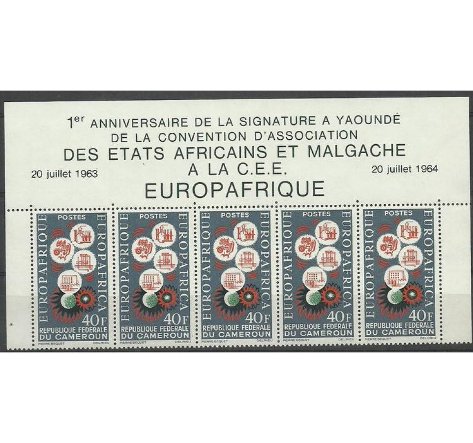 Kamerun 1964 Mi 409 Czyste **
