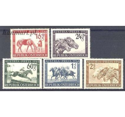Znaczek Austria 1946 Mi 785-789 Z podlepką *