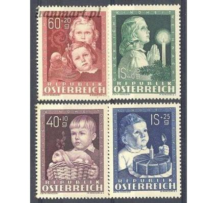 Austria 1949 Mi 929-932 Z podlepką *
